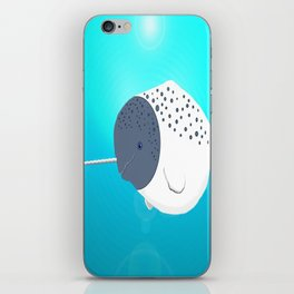Fat Narwhal iPhone Skin