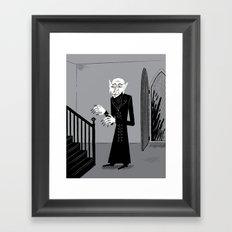 The Halloween Series - Nosferatu Framed Art Print