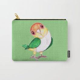 White bellied caique Carry-All Pouch