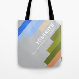 The colors of climbing spots - YOSEMITE Tote Bag