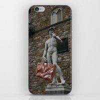 david fleck iPhone & iPod Skins featuring david by Francesco Mestria