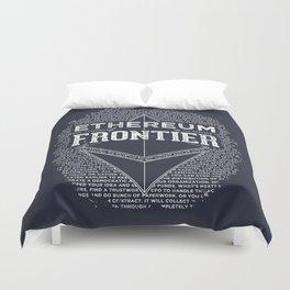 Ethereum Frontier Duvet Cover