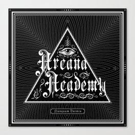 Arcana Academy - Nunquam Dormio Canvas Print