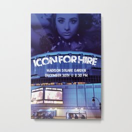 Icon For Hire Concept Poster Metal Print