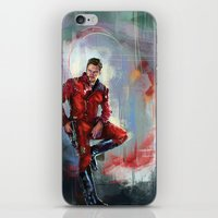 star lord iPhone & iPod Skins featuring Star-Lord by Wisesnail
