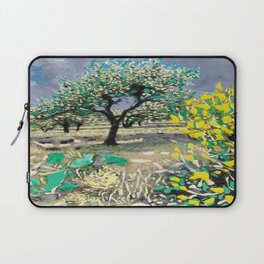 Olive Tree & Gorse Bush Laptop Sleeve