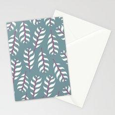 Simple leaf print Stationery Cards