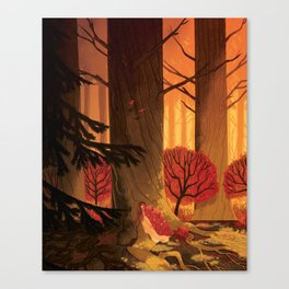 Blindsprings Page Five Canvas Print