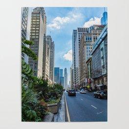 Chicago's Michigan Avenue Poster