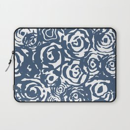 Navy Flower Bundle Laptop Sleeve