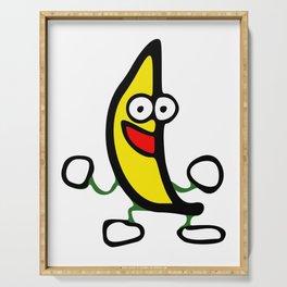 Dancing Banana Serving Tray