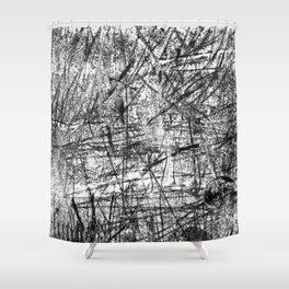 Scratchy_ART Shower Curtain