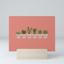 Cacti & Succulents Mini Art Print