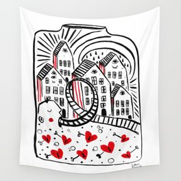 A place called Saudade Wall Tapestry