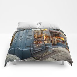 Penny Farthing Shop Comforters