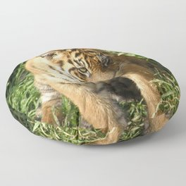 Young Tiger Floor Pillow
