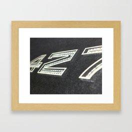427 Framed Art Print