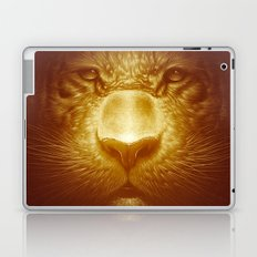 Gold Tiger Laptop & iPad Skin