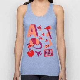 A is for... Unisex Tank Top