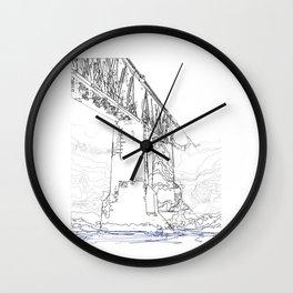 Edmonton Wall Clock