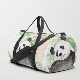 Panda, Hanging Out Duffle Bag
