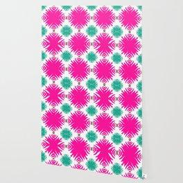 Island Tropical Garden pattern 2 Wallpaper