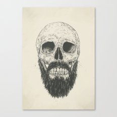 The beard is not dead Canvas Print