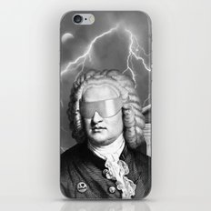 Bach To The Future (New Version) iPhone & iPod Skin
