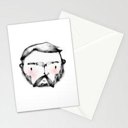 Geometric Macho Man Stationery Cards