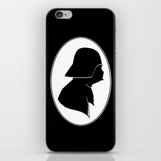 Dark Side Silhouette  iPhone & iPod Skin