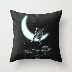 The Moon Song Throw Pillow