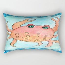 Carolina the Crab Rectangular Pillow