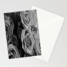 Black Hearted  Stationery Cards