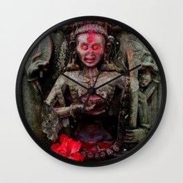 Hindu Kali 14 Wall Clock