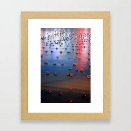 Reflections on the Hudson Framed Art Print