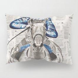 Race Pillow Sham
