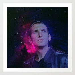 the 9th Doctor Art Print
