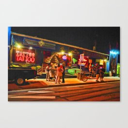 Hanging Outside Canvas Print
