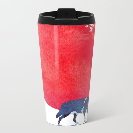 Fear the red Metal Travel Mug