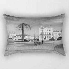 Nazare Plaza - BW Rectangular Pillow