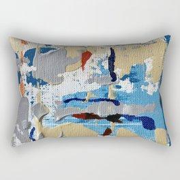 Miniature Original  - blue Rectangular Pillow