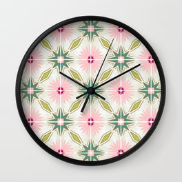 Tile no. 15 Wall Clock
