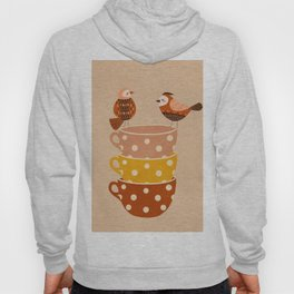Birds and Teacups Hoody