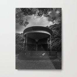 mono bandstand Metal Print