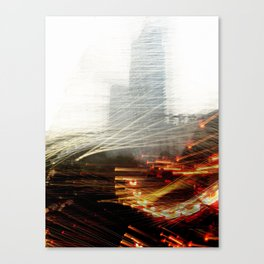 Lights and Tower Canvas Print