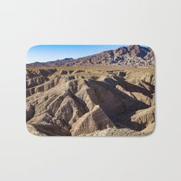 View towards Granite Mountain in the Anza Borrego Desert State Park, California, USA Bath Mat