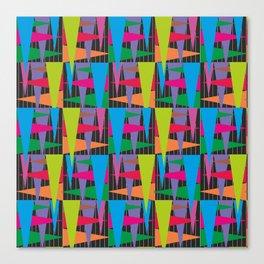 Abstract traingle Canvas Print