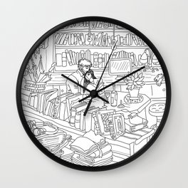 """""""Our Place"""" Wall Clock"""
