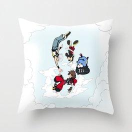 Kingdom Hearts - Dream Drop Distance Throw Pillow