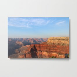 Grand Canyon South Rim at Sunset Metal Print